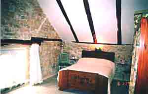 The dovecote, all our bedrooms are furnished in old style